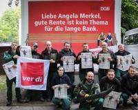 Die Gärtner des Melaten-Friedhofs in Köln beteiligten sich an unserer Kampagne, Foto: DGB-NRW