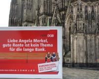 Zwischenstopp am Kölner Dom, Foto: DGB-NRW