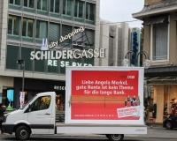 Zwischenstopp an der Schildergasse in Köln, Foto: DGB-NRW
