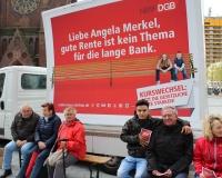 Jung und Alt gemeinsam für eine gute Rente, Foto: DGB-NRW
