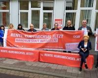 DGB Rente Lange Bank - Verdi Ludwigshafen , Foto: DGB Ludwigshafen