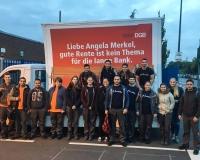 Früh morgens bei den Ford-Werken in Köln, Foto: DGB-NRW