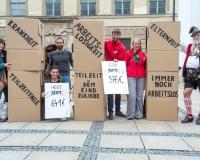 Rentenaktion des DGB München am 11.09.2017 in der Münchner Innenstadt, Foto: DGB/Werner Bachmeier