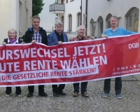 Auch der DGB Kreiverband Ebersberg hat sich am Aktionstag beteiligt, Foto: DGB