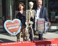 Matthias Jena und Verena Di Pasquale: Handeln statt Aussitzen!, Foto