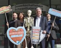 Die Rente muss auch in Zukunft für einen Wiesnbesuch reichen, Foto: DGB Bayern/Werner Bachmeier