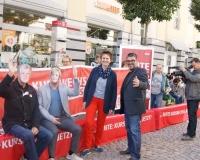 Aktion in Zwickau, Foto: DGB Südwestsachsen/Hron