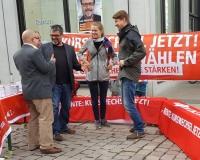 Aktion in Chemnitz, Foto: DGB Südwestsachsen/Hron