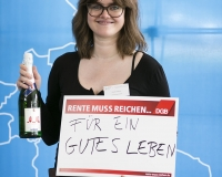 Meret Matthes, Projektkoordinatorin aus Berlin