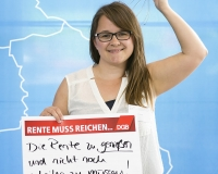 Robin Günther, Studentin aus Friedland