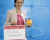 Naciye Celebi-Bektas, Gewerkschaftssekretärin aus Hannover