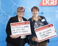 Sybille Hanke aus Salzatal und Katrin Fröchtenicht aus Echte