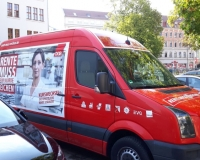 Sachsen, Rentenbus