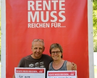 Martina Kistner & Michael Braun/Foto: DGB/Jonas Weber