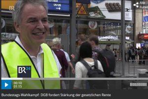 Screenshot eines Berichts des Bayerischen Rundfunks
