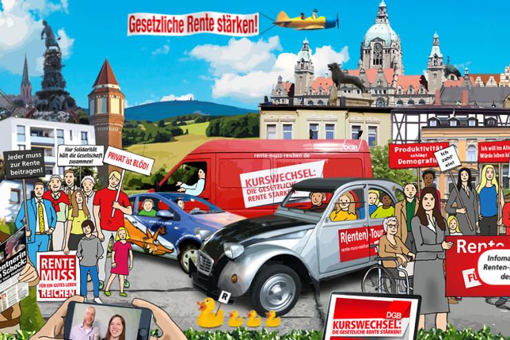 Startseite von www.r-ente.de © DGB-Bezirk Niedersachsen – Bremen Sachsen-Anhalt